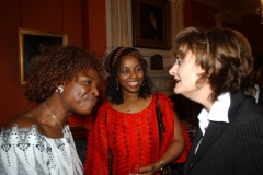 Mrs Obichukwu with former Enfield Mayor and Mrs Blair