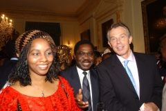 Mrs Obichukwu with Former UK Prime Minister