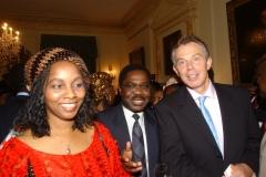 Mrs Obichukwu with Former UK Prime Minister